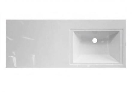 Раковина Эстет Даллас 100 ФР-00002062, правая, 100.2 х 48.2 х 14.5 см, купить - цена в Алматы.